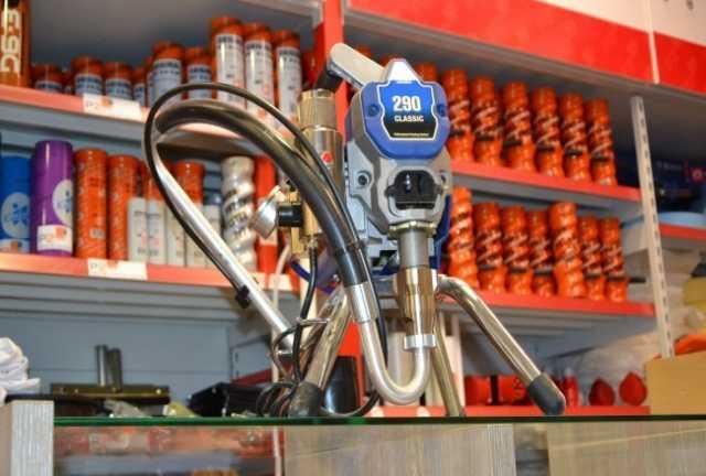 Продам Окрасочное оборудование GRACO 290 CLASSI