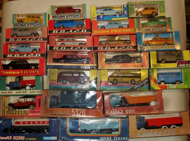Куплю Машинки СССР масштабные модели