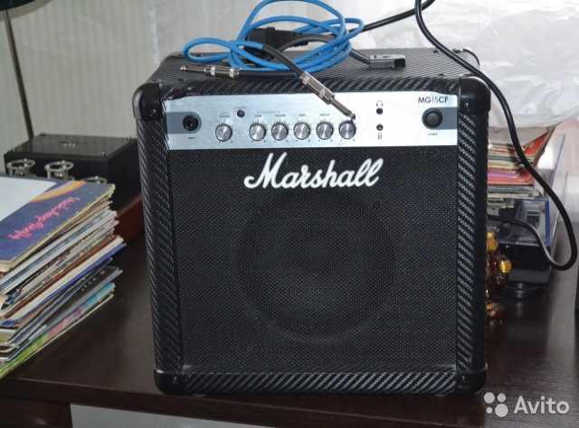 Продам Marshall MG15CF combo