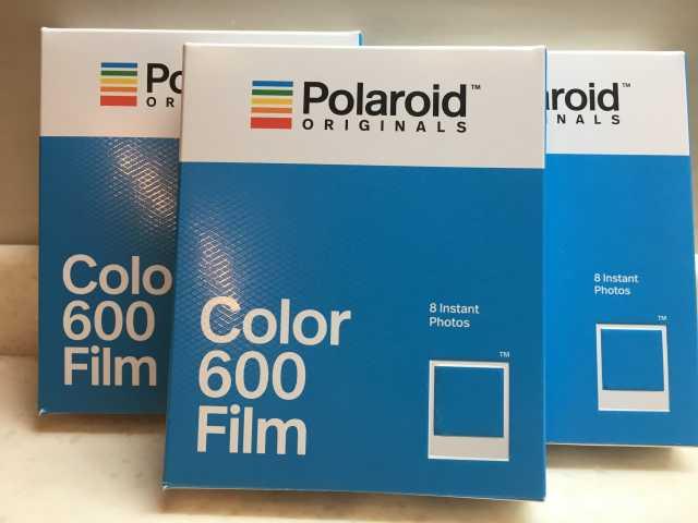 Продам Кассета Polaroid 600/636  классика