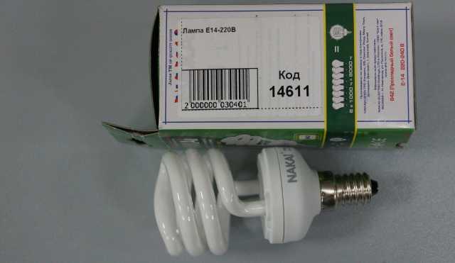 Продам Лампа Е14 220В