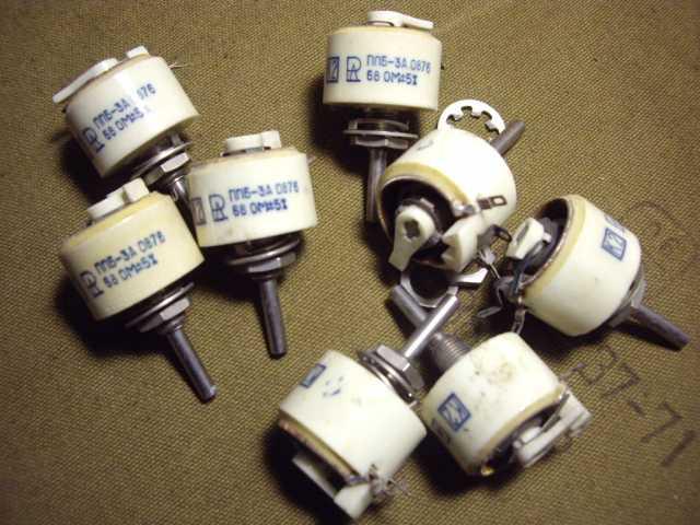 Продам Резисторы серии ППБ- 3А