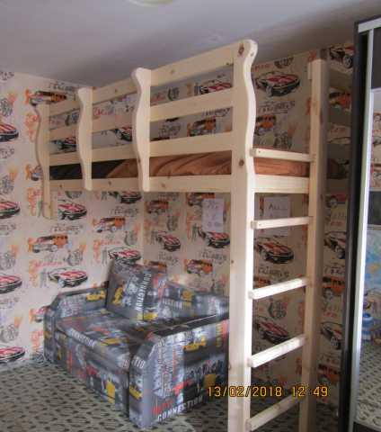 Продам новая кровать-чердак из натурального дер