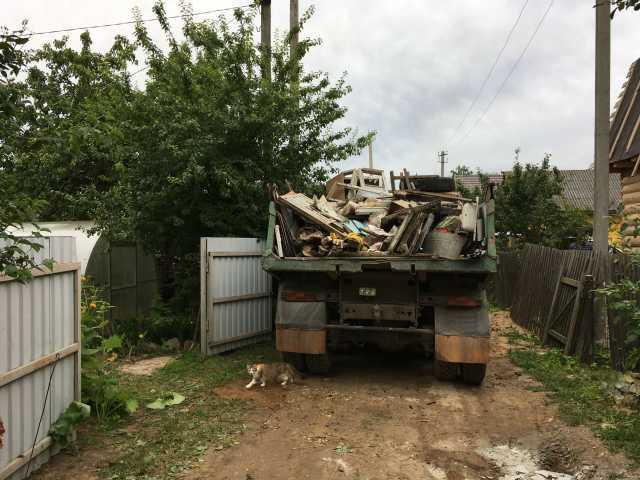Предложение: Вывоз мусора с дачи • уборка территории