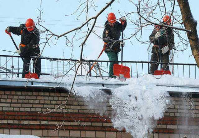 Предложение: Уборка снега.Чистка крыш.Чистим территор