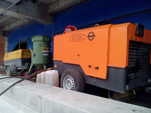 Предложение: Аренда компрессора для пескоструя