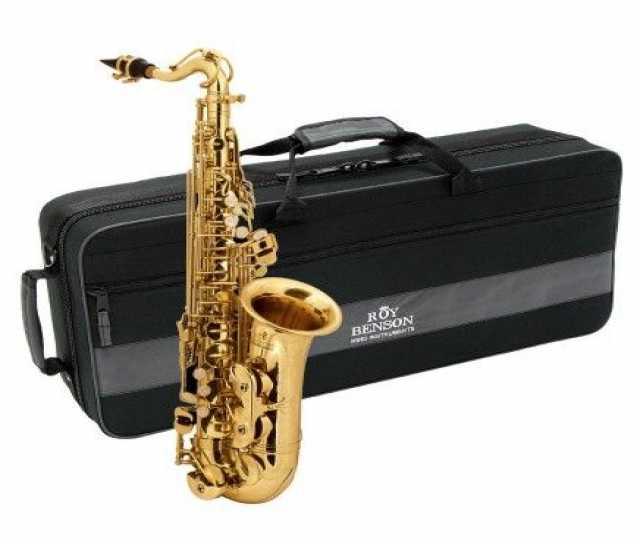 Продам ROY BENSON AS-201 альт саксофон