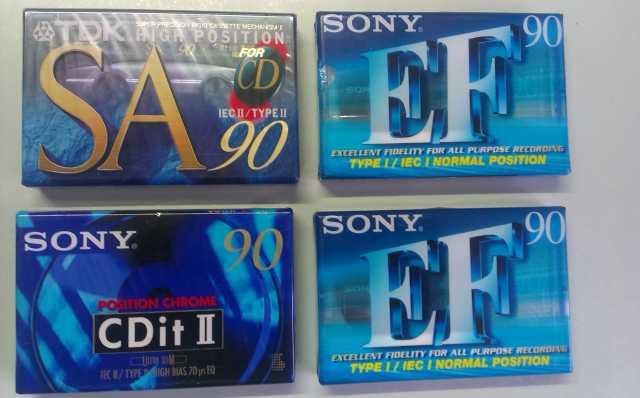 Продам Аудио компакткассеты новые