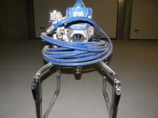 Предложение: Аренда окрасочного аппарата GRACO 210 E