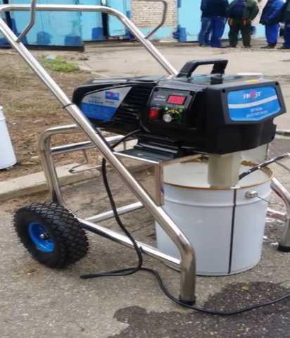 Предложение: Аренда окрасочного оборудования SPT 650