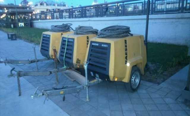 Предложение: Аренда строительного компрессора KAESER