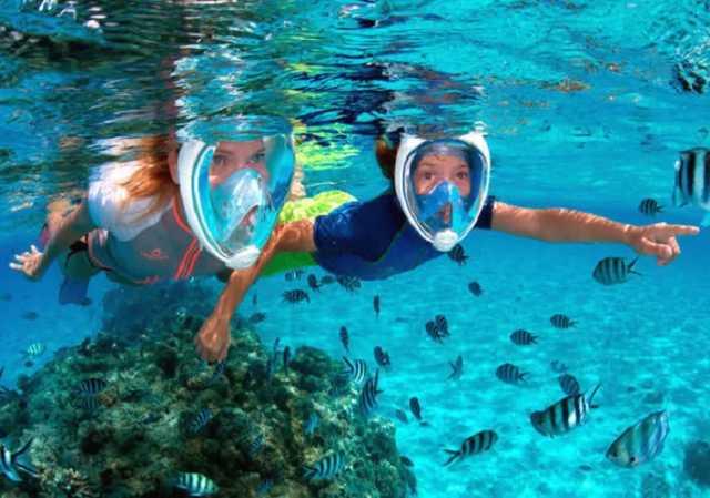 Продам Полнолицевая маска для плавания
