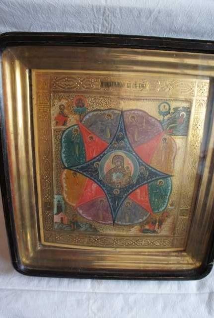 Продам Икона Неопалимая Купина, 19В