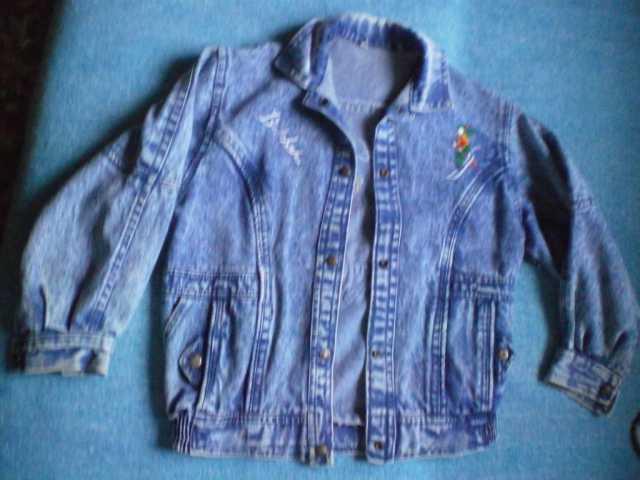 Продам Подростковая джинсовая куртка