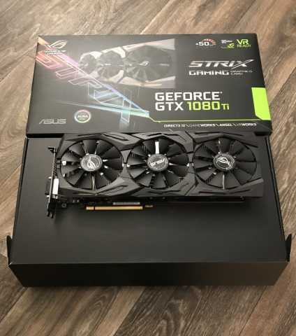 Продам ASUS ROG STRIX GeForce GTX 1080 TI