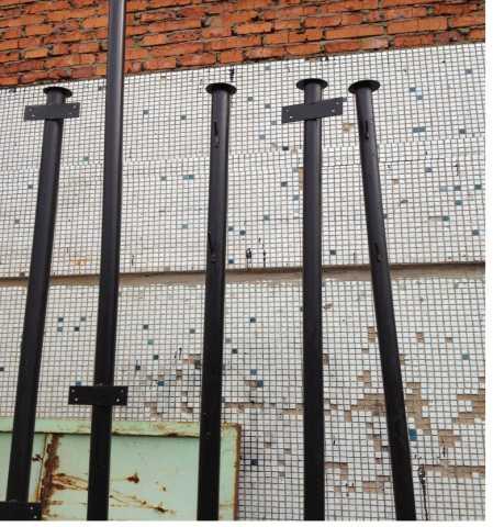 Продам: Столбы металлические для заборов
