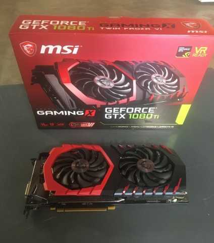 Продам MSI GAMING GeForce GTX 1080 VR Ready 8GB
