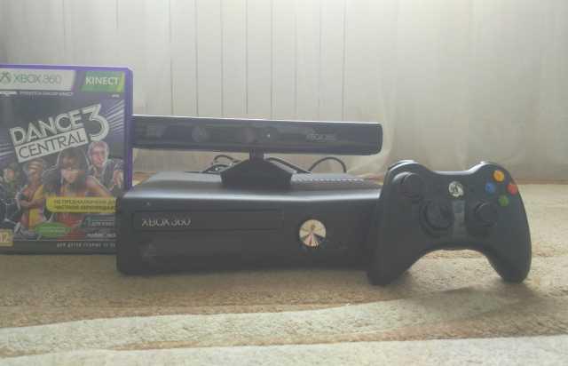 Продам Xbox 360 + kinect