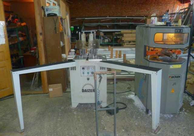 Продам Оборудование по производству ПВХ-констр.