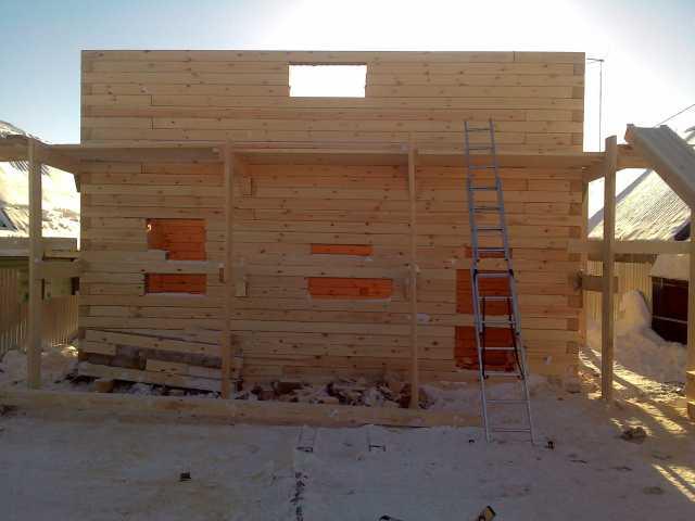 Предложение: бригада плотников