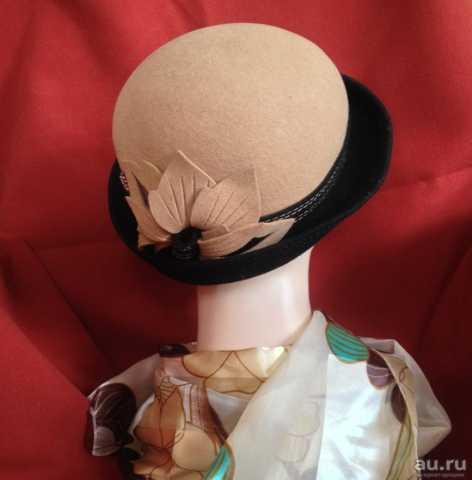 Продам новая женская шляпка фетр 57-59