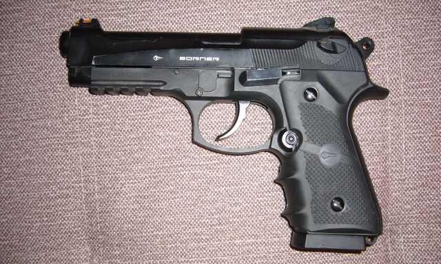 Продам Отличный Пистолет пневматический BORNER