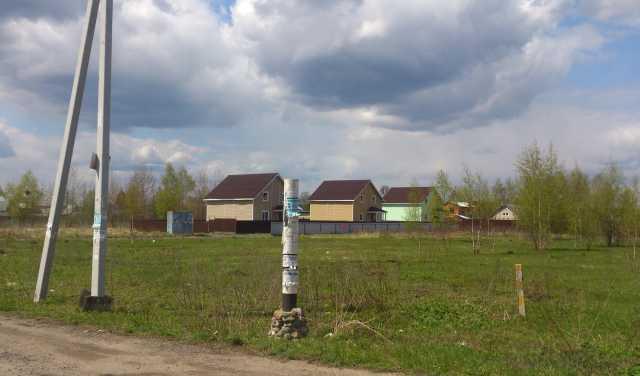 Продам: Участок 15 соток в деревне Аксиньино,