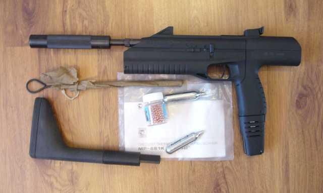 Продам пистолет- пулемет пневматический, мр-661