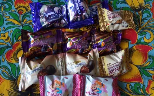 Продам конфеты некондиция в завертке