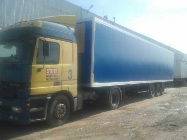 Предложение: изотермические фургоны на полуприцепы