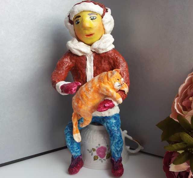 Продам Кукла ручной работы декоративная