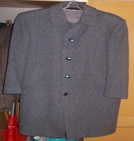 Продам Пальто cерое (шерсть)