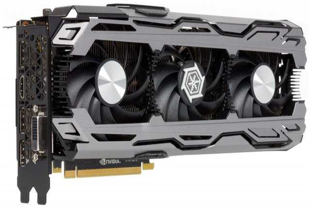 Продам Видеокарты iChill GeForce GTX 1070 X3