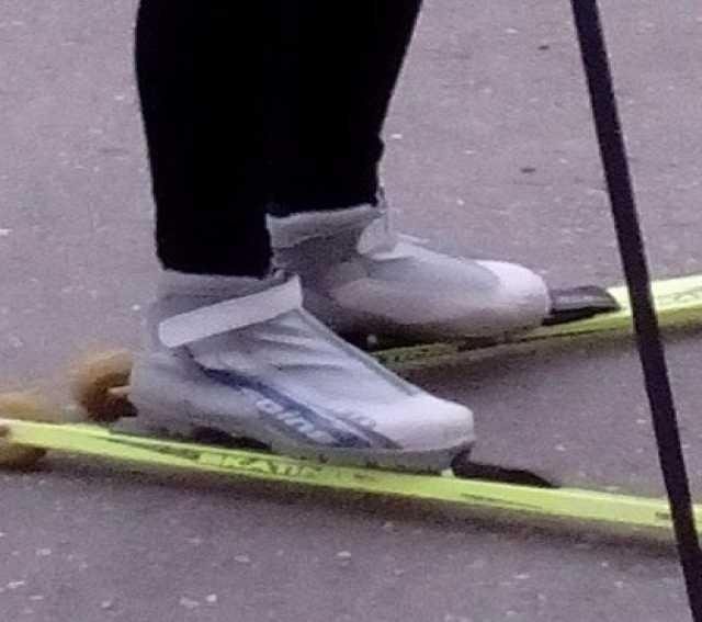 Продам Лыжероллеры+ботинки+крепление+палки