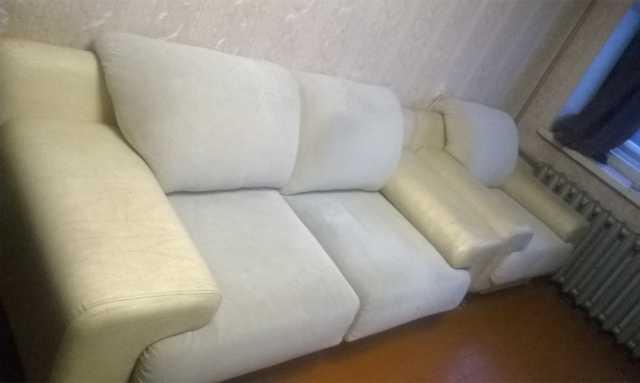 Продам Современный диван и кресло
