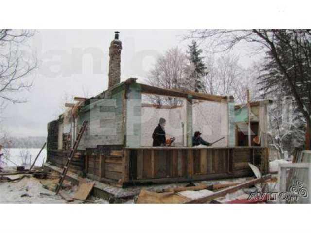 Предложение: Демонтаж сгоревших дачь бань домов.