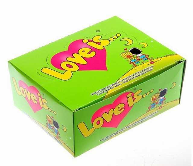 Продам Блок жвачки из 90-х Love is