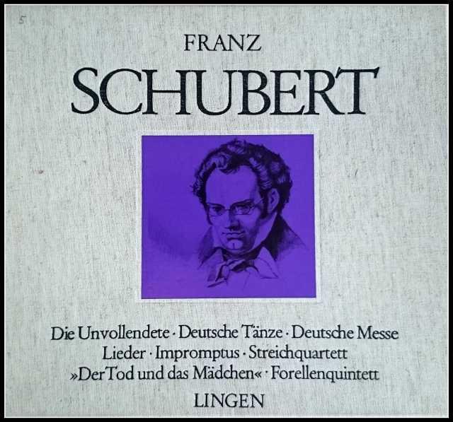 Продам Франц Шуберт «Der Tod und das Madchen»LP