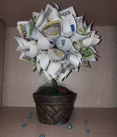 Продам Денежный топиарий  - символ благополучия
