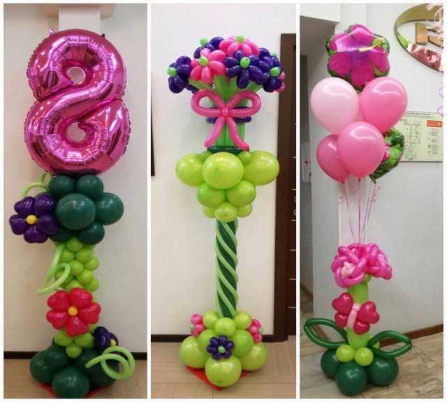 Продам Воздушные шары на 8 марта с доставкой