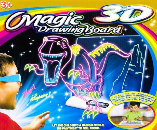 Продам  3D Доска Для Рисования Magic Drawing Bo