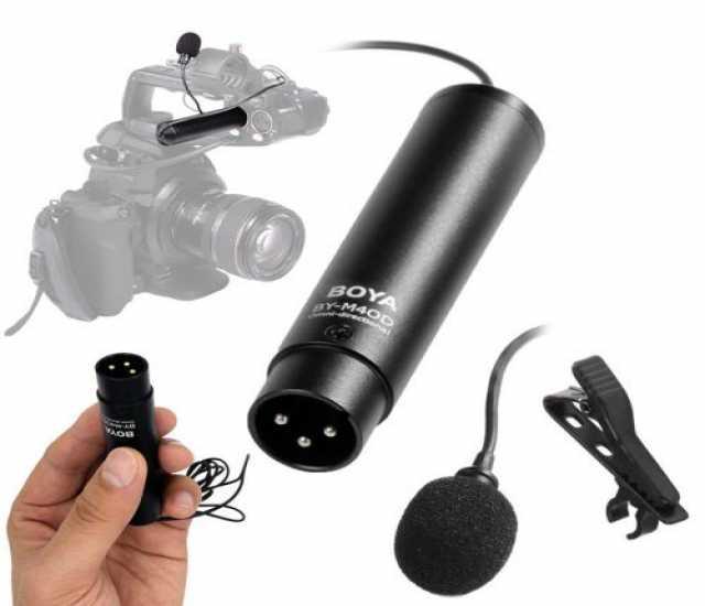Продам петличный микрофон с XLR разъём