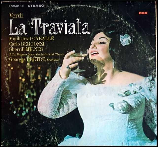 Продам Верди Verdi Montserrat Caballe La Travia