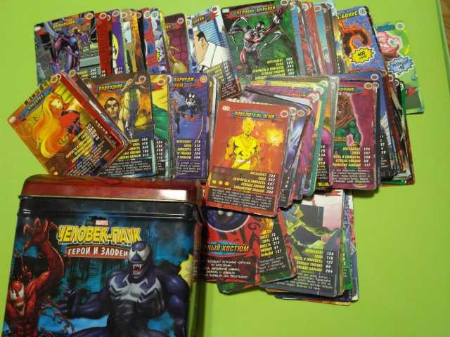 Продам карточки Человек-паук