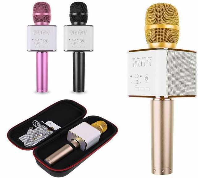 Продам Беспроводной микрофон Q9 с колонкой