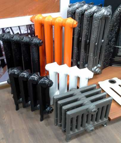 Продам Чугунные дизайн радиаторы