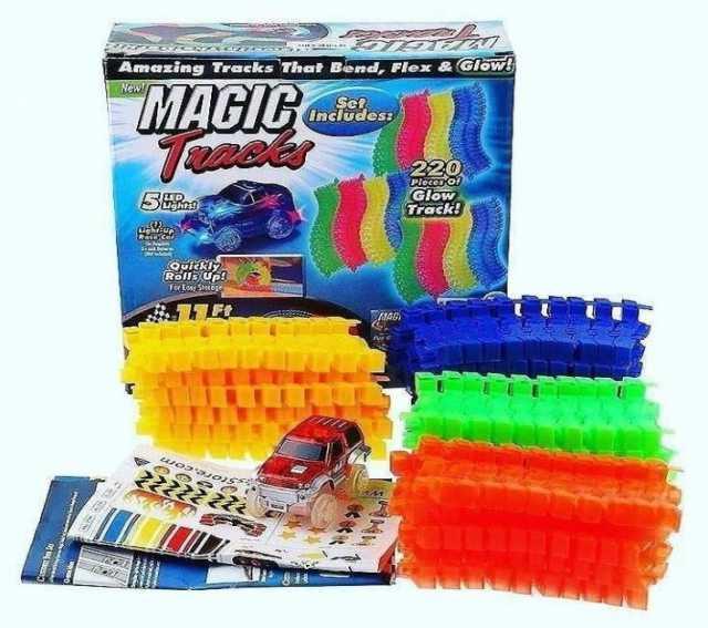 Продам Magic Track на 220 деталей