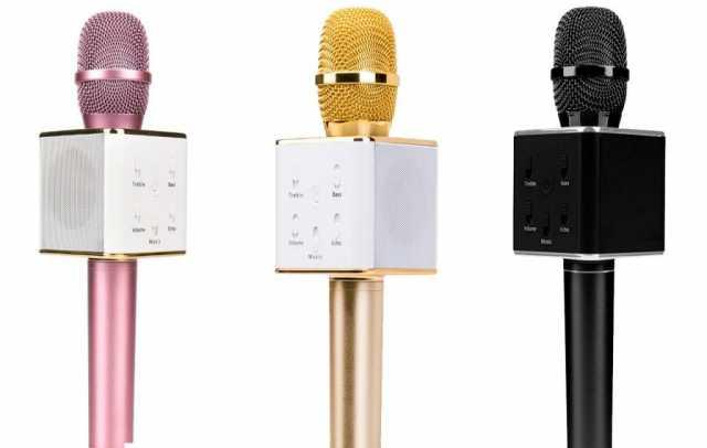 Продам  Беспроводной Микрофон Q7 с колонкой