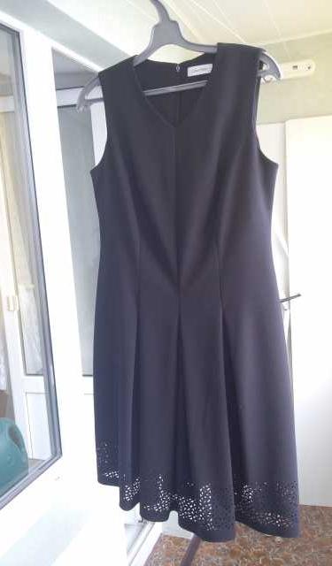 Продам платье черное элегантное