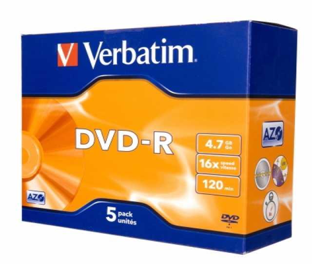 Продам Диск однократной записи DVD+R Disc Verba